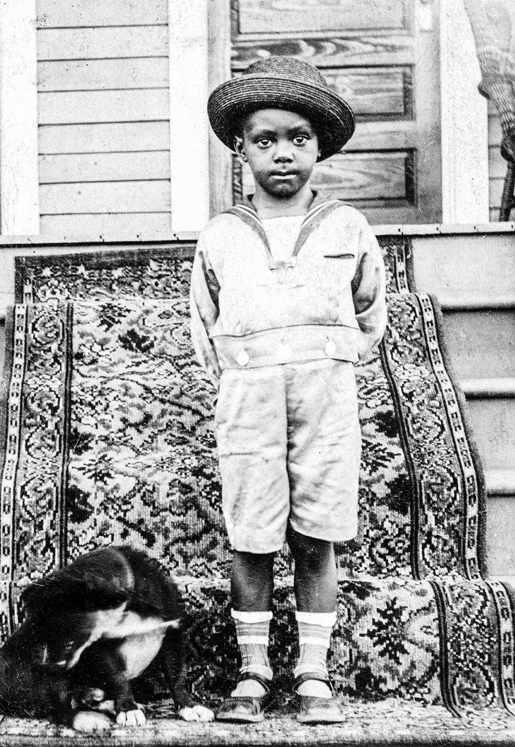 Photographs of African American boys in Fauntelroy or Buster Brown ...