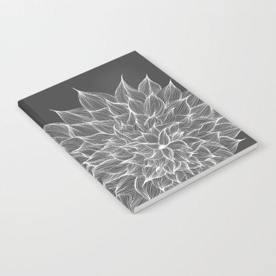 Flowers of Grey Notebook