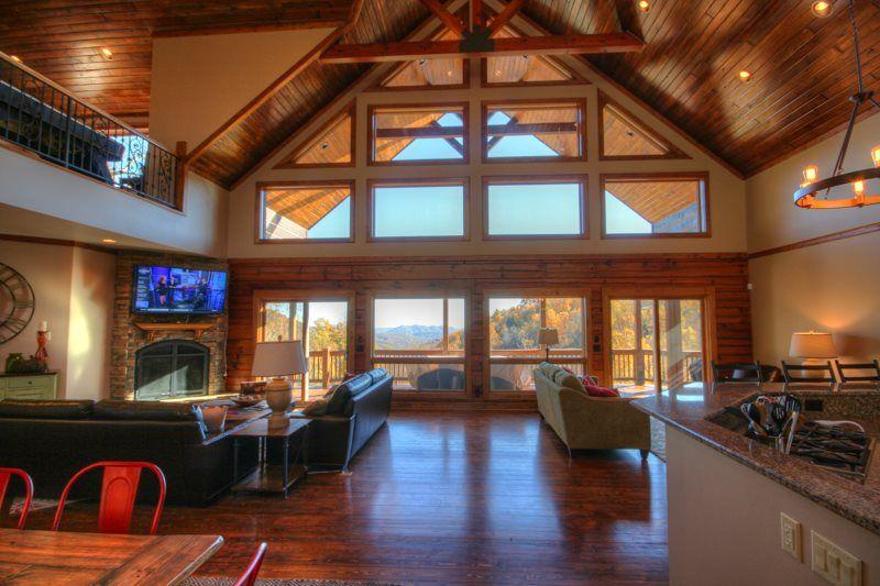 cherokee rentals beach cabin nc mountain bedroom blue cabins throughout incredible virginia rental luxury vacation ridge in