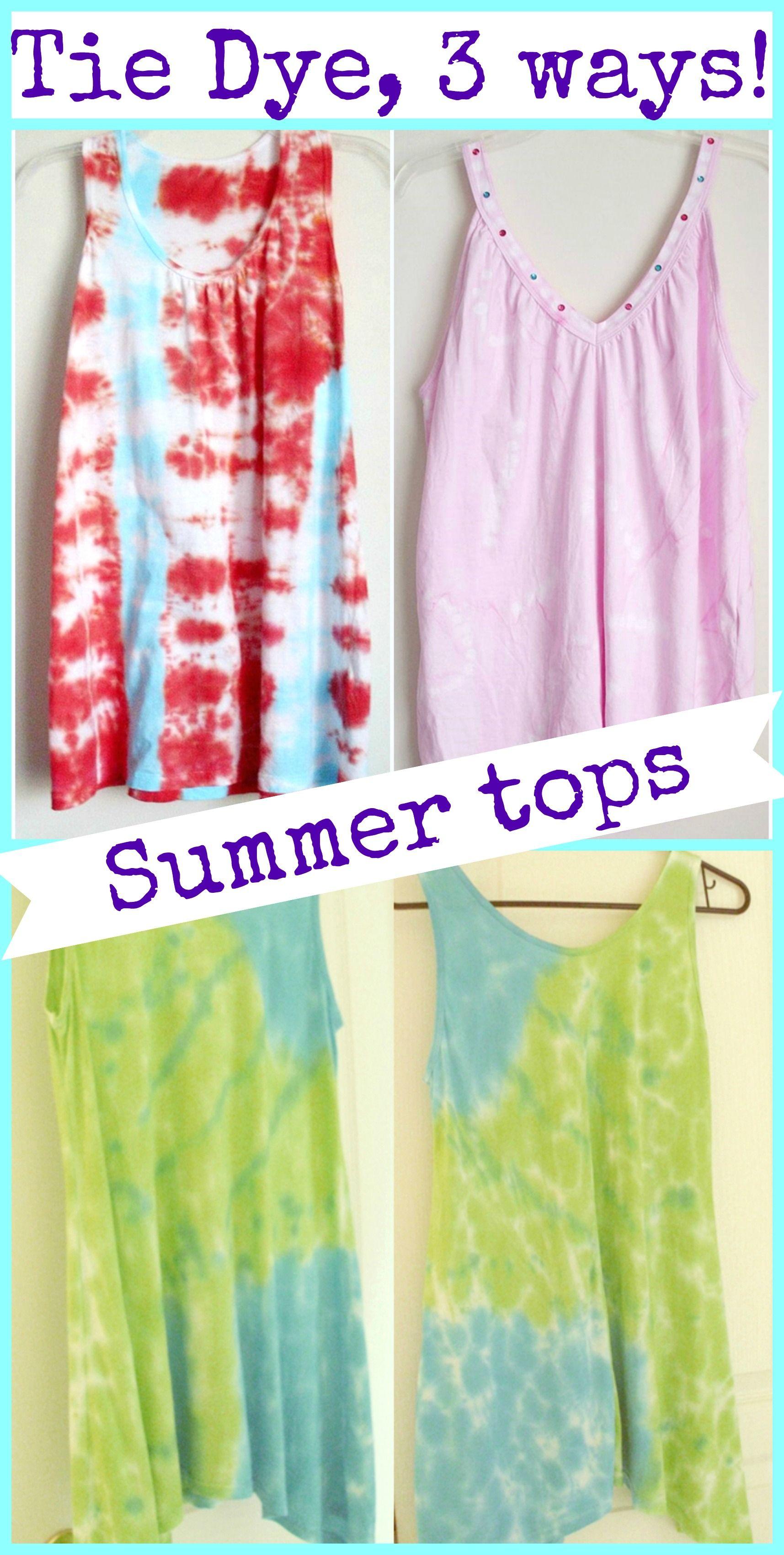 Tie Dye Tanktop Summer Gritty Infante