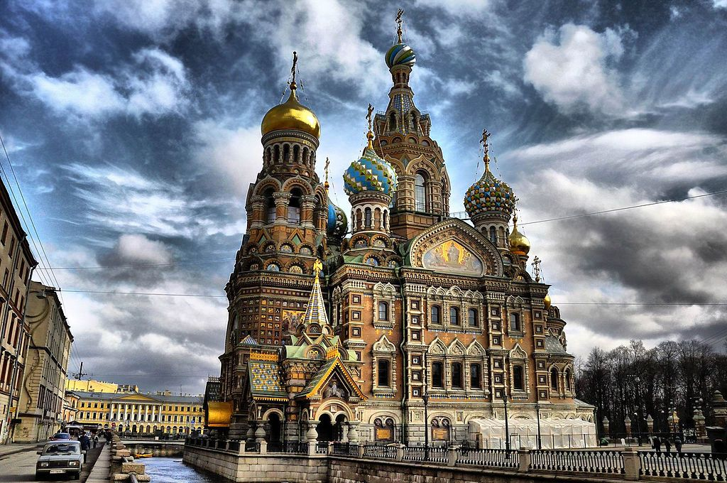 Church of Our Savior on Spilled Blood Architect: Alfred Parland Location: St. Petersburg, Russia Opened: 1907 Height: 307'