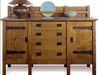 Hile Dining Room Furniture Arts And Crafts Furniture Craftsman Furniture Arts Crafts Style
