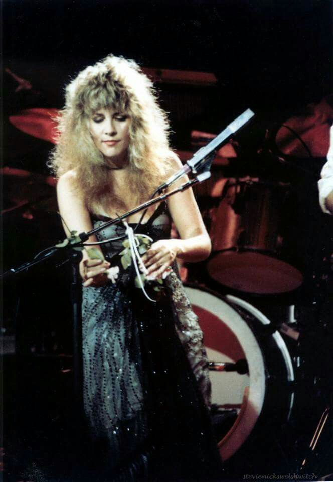 Stevie Nicks of Fleetwood Mac Mirage Tour