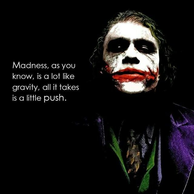 Pin by Hany Ibrahim on Film and TV Best joker quotes