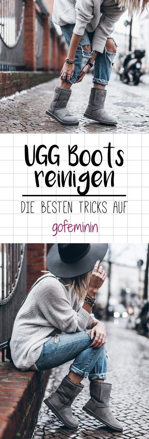 UGG Boots reinigen: DIESE Tricks sind einfach genial! #shoeboots