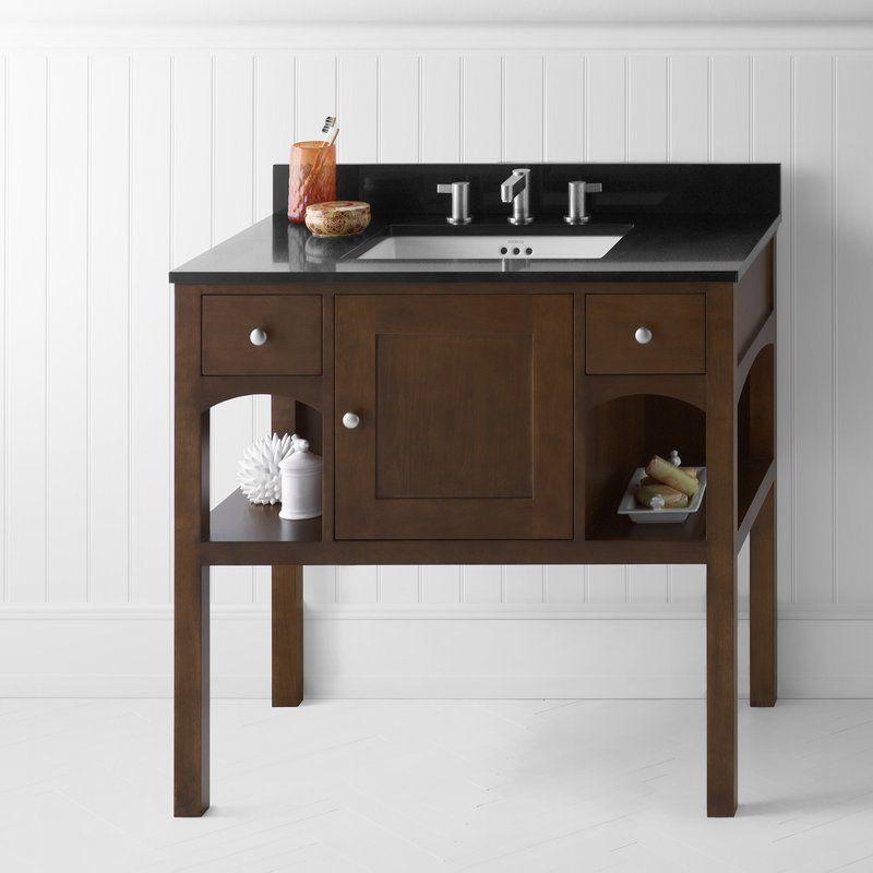 "Langley 36"" Single Bathroom Vanity Set | Single bathroom ..."