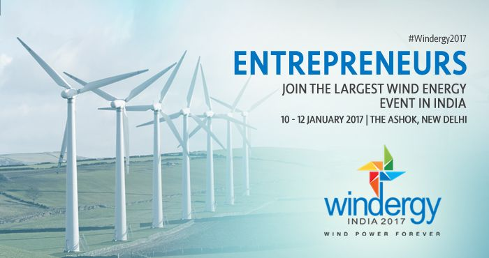 Renewable energy entrepreneurs may just save the planet and your Pockets. #Windergy2017 #Wind4All #RenewableEnergy #WindPowerForever