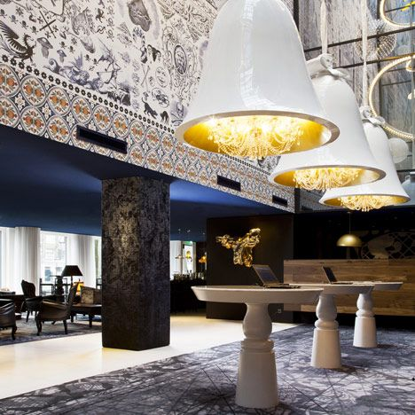 Andaz Amsterdam Prinsengracht Hotel by Marcel Wanders - I could live here.