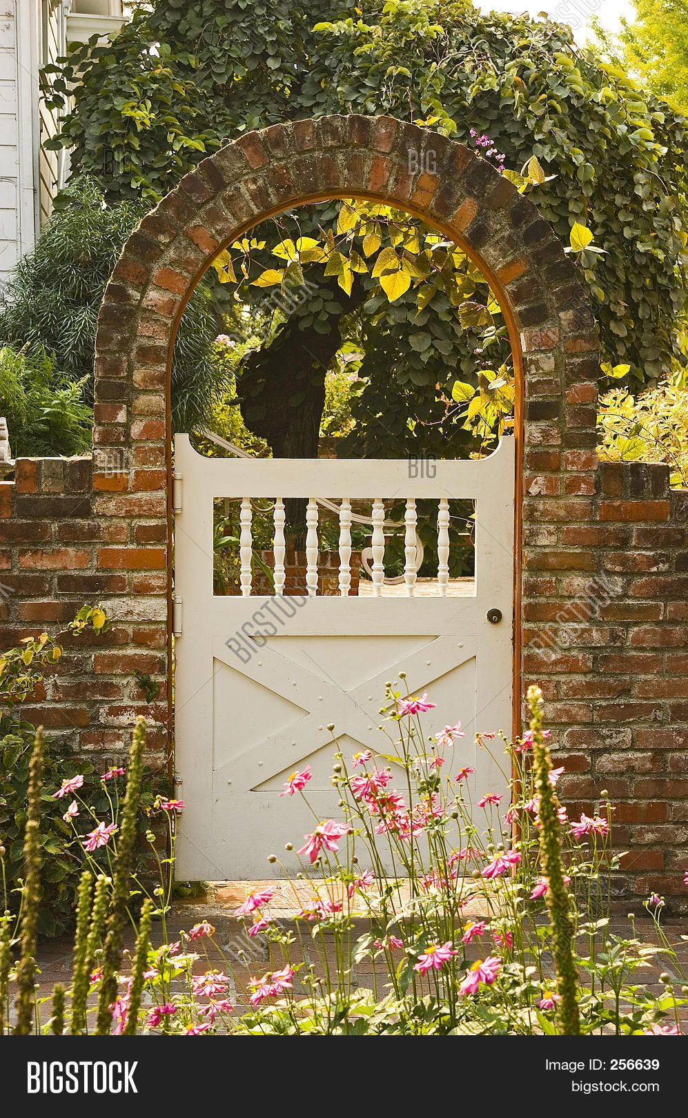 Image Of Garden Gate Garden Gate Design Wooden Garden Gate