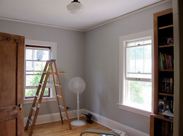 Harbor Gray Ac 25 Hirshfield S Color Club Paint Colors For Home Living Room Paint Home Decor