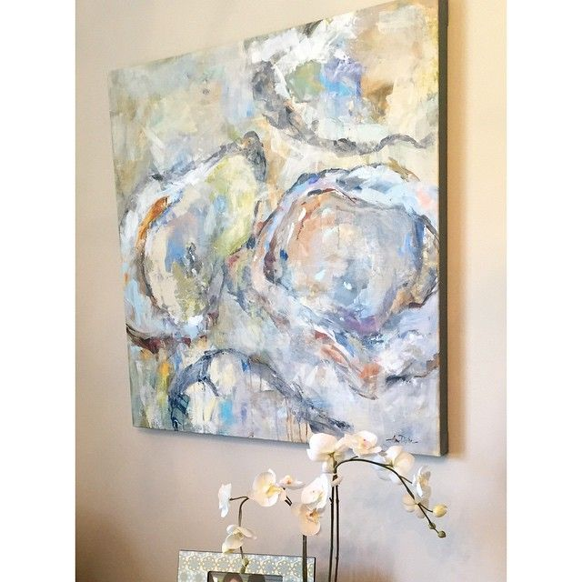 Install, Oyster Stew. See post from this morning for more details #christenberrycollection @amydixonfineart