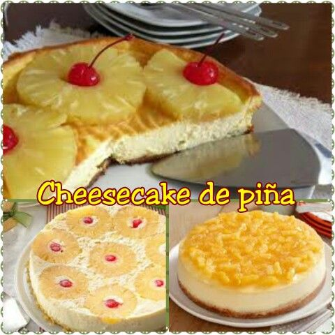 Cheesecake de piña