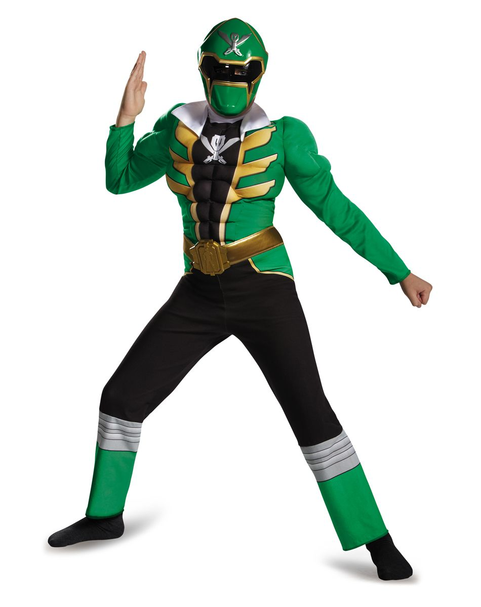 green power ranger muscle jumpsuit child costume exclusively at spirit halloween create a powerful opportunity