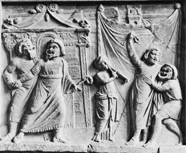 Image result for ancient greek and roman actors
