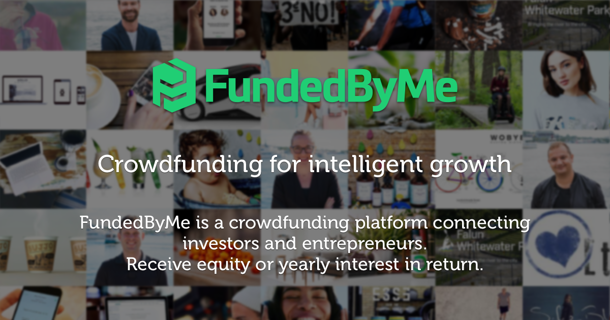 FundedByMe Is A Crowdfunding Platform Connecting Investors
