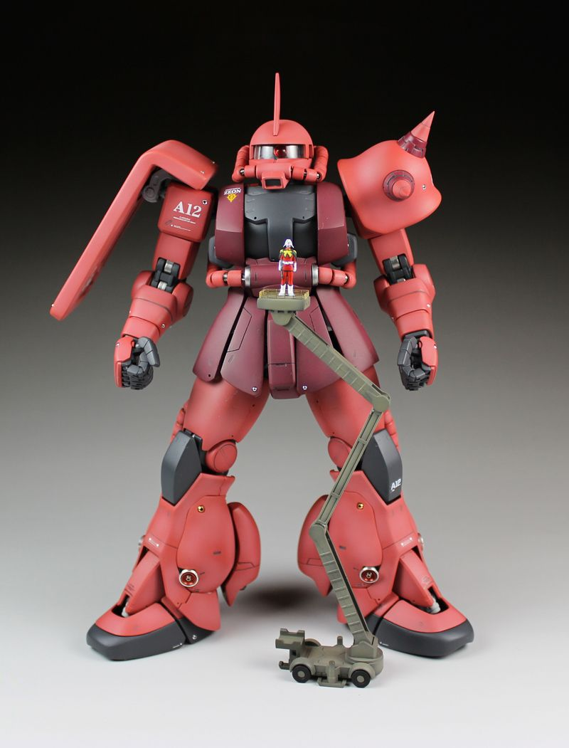 Bandai Hobby MS-06S Chars Zaku II Ver 2.0 Master Grade Action Figure