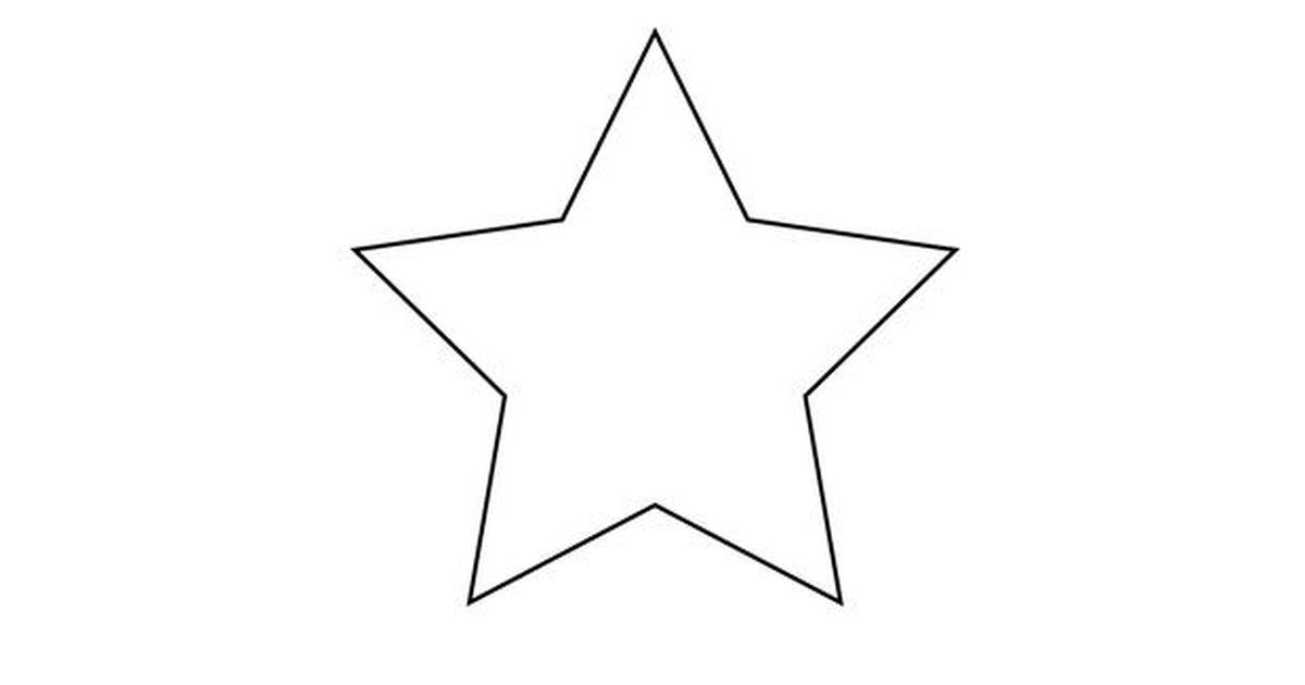 Como Desenhar Uma Estrela De Cinco Pontas Com Imagens Estrela