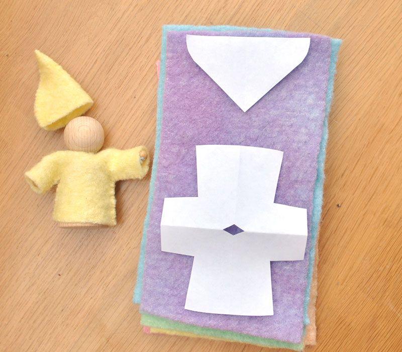 Bambole waldorf di stoffa waldorf dolls tutorial make for Tutorial fermaporta di stoffa