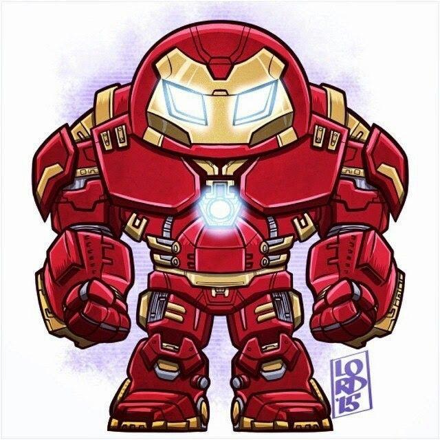 Hulkbuster Marvel Cartoons Avengers Cartoon Chibi Marvel