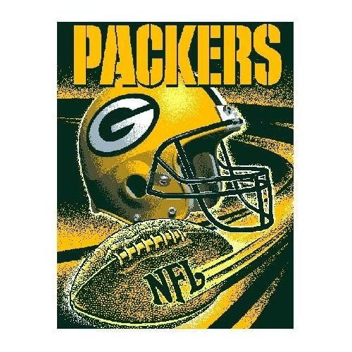 Green Bay Packers Throw This 40 X 40 Loom Woven Triplelayer Simple Green Bay Packers Throw Blanket