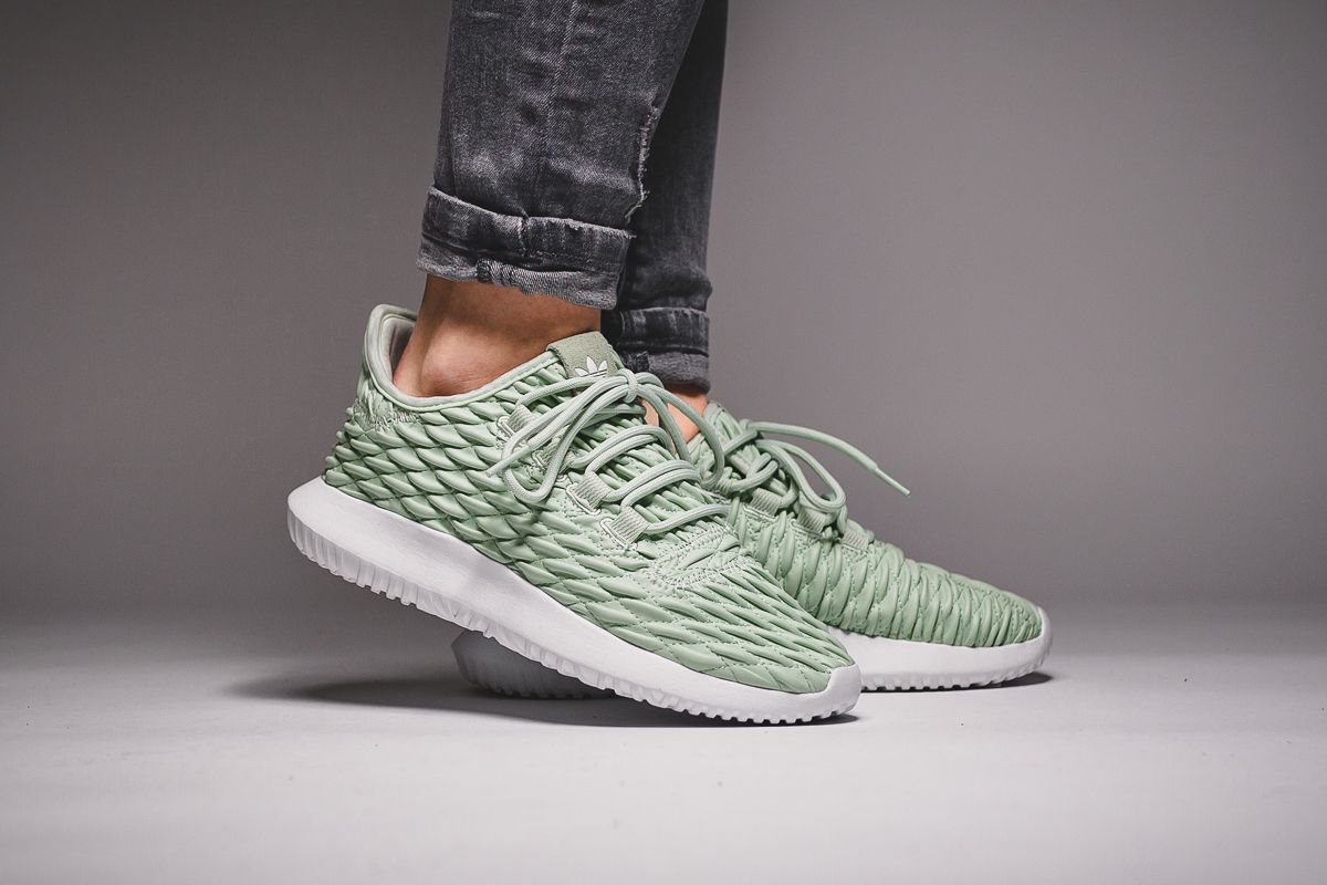new product 7b696 74adc adidas Originals Tubular Shadow  Green Linen