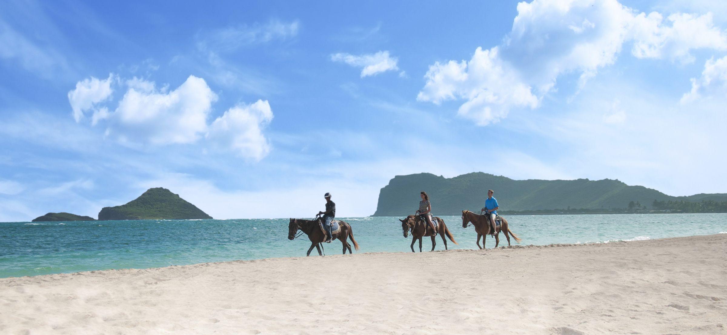 Horseback Riding At Coconut Bay
