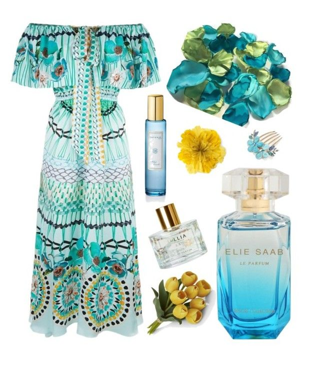 In Bloom for Spring by kotnourka on Polyvore featuring polyvore beauty Lollia Gucci Temperley London Crate and Barrel Shay & Blue