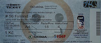 Mint ticket ice hockey wc #12.5.2015 finland vs #russia in #ostrava,  View more on the LINK: http://www.zeppy.io/product/gb/2/391448447852/