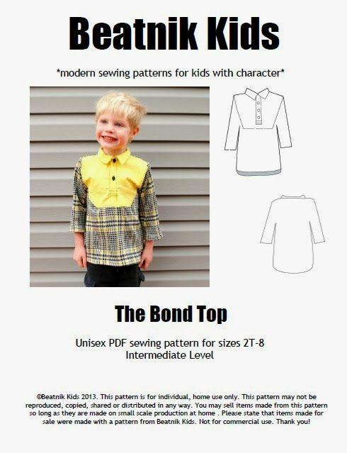 Designer\'s Challenge - Beatnik Kids | Designer\'s Challenge | Sewing ...