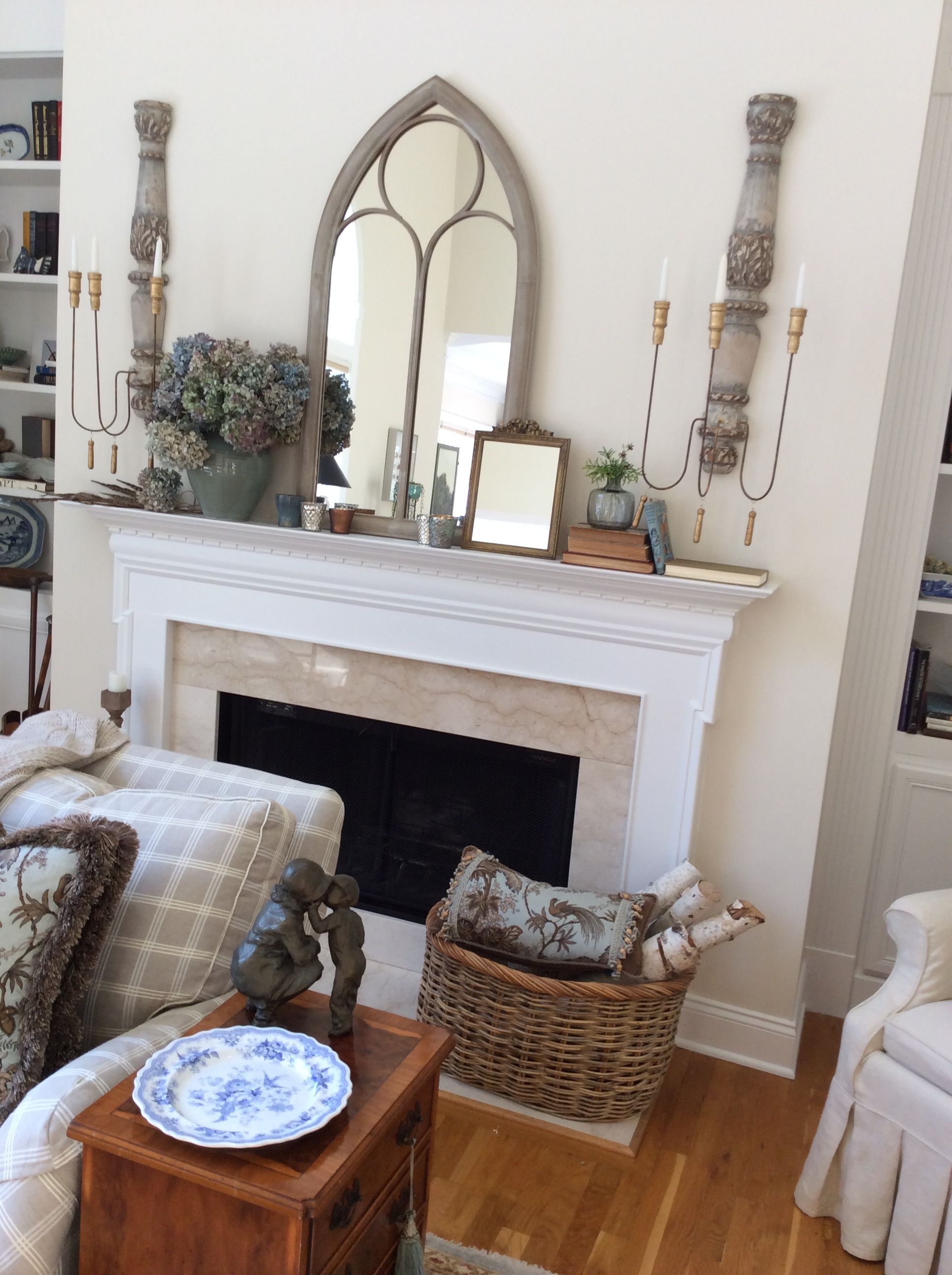 Mantles French Country Tennessee Fireplaces Nest Shabby Chic Home Decor Fire Places Homemade