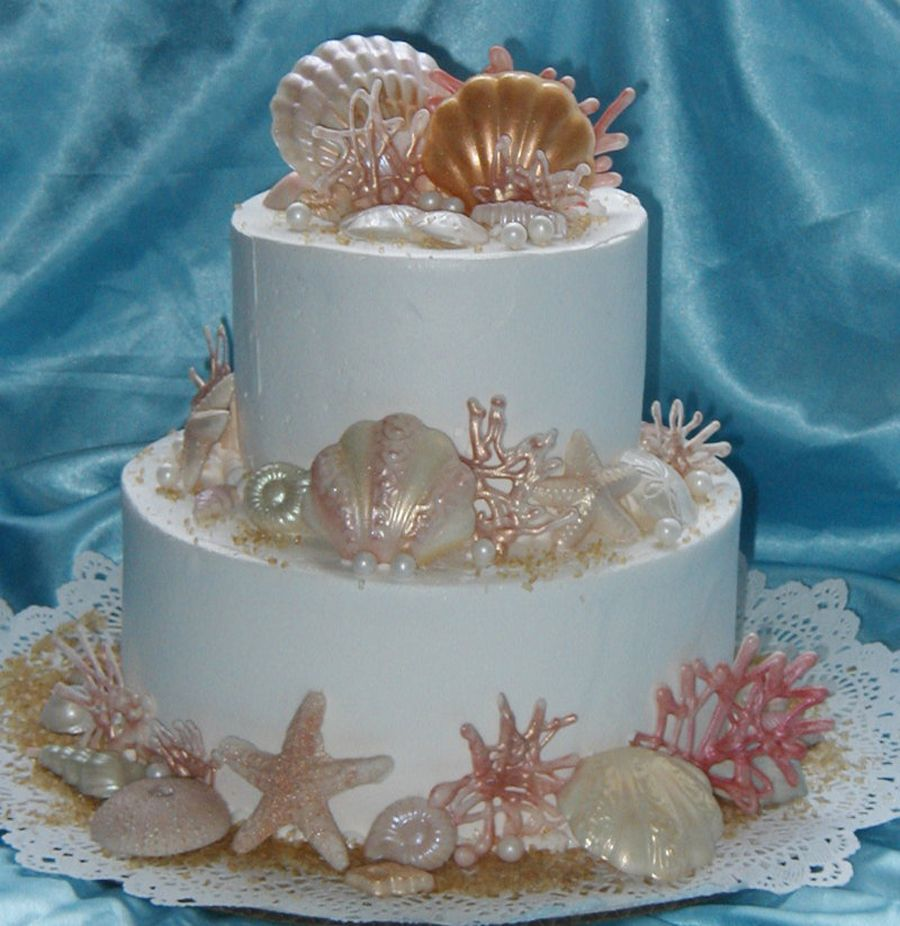 Seashell Birthday Cake Pictures Google Search Cakes Pinterest
