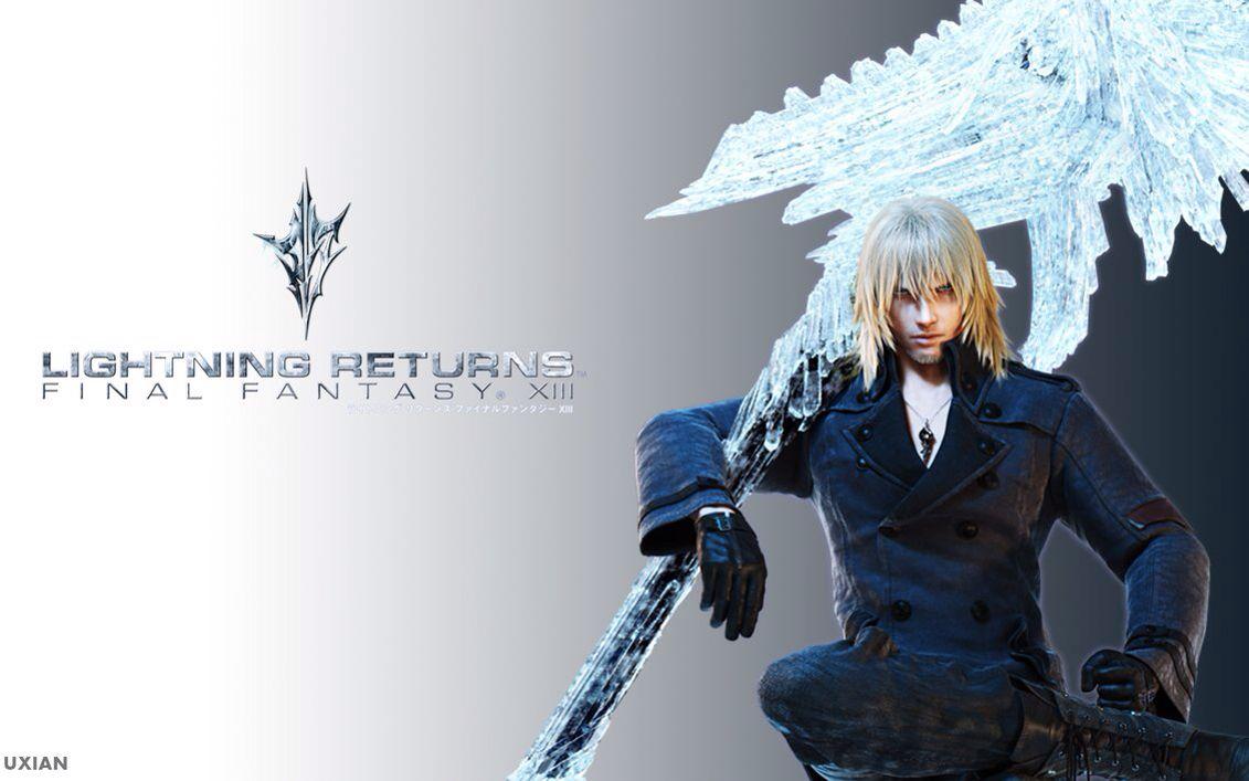 Final Fantasy - Snow | Dessin