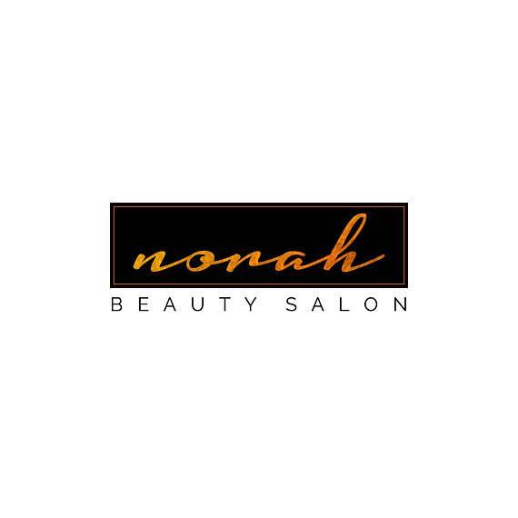 Hair Salon Logo Beauty Stylist Chic