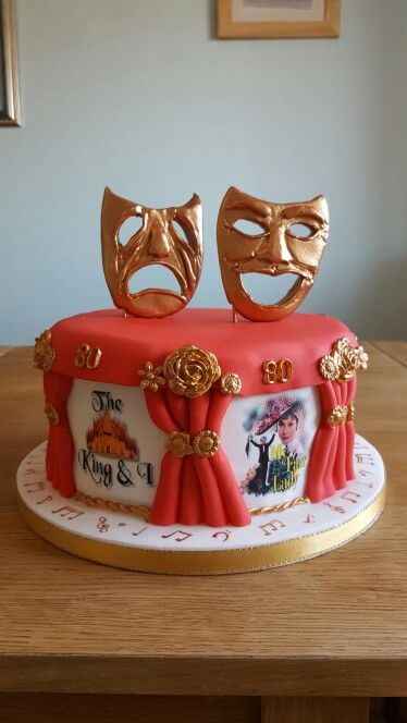 Opera Theatre Cake Theater Cakes In 2019 Cake