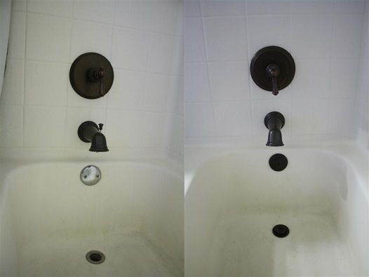 How To Remove An Old Bathtub Trim Kit And Replace With A New Oil