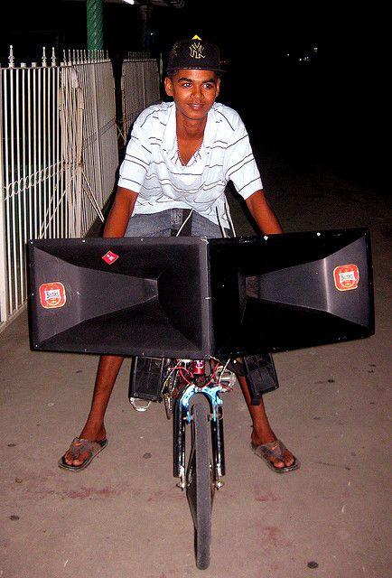 Bicycle Sound System 1 Sound System Wall Of Sound Sound