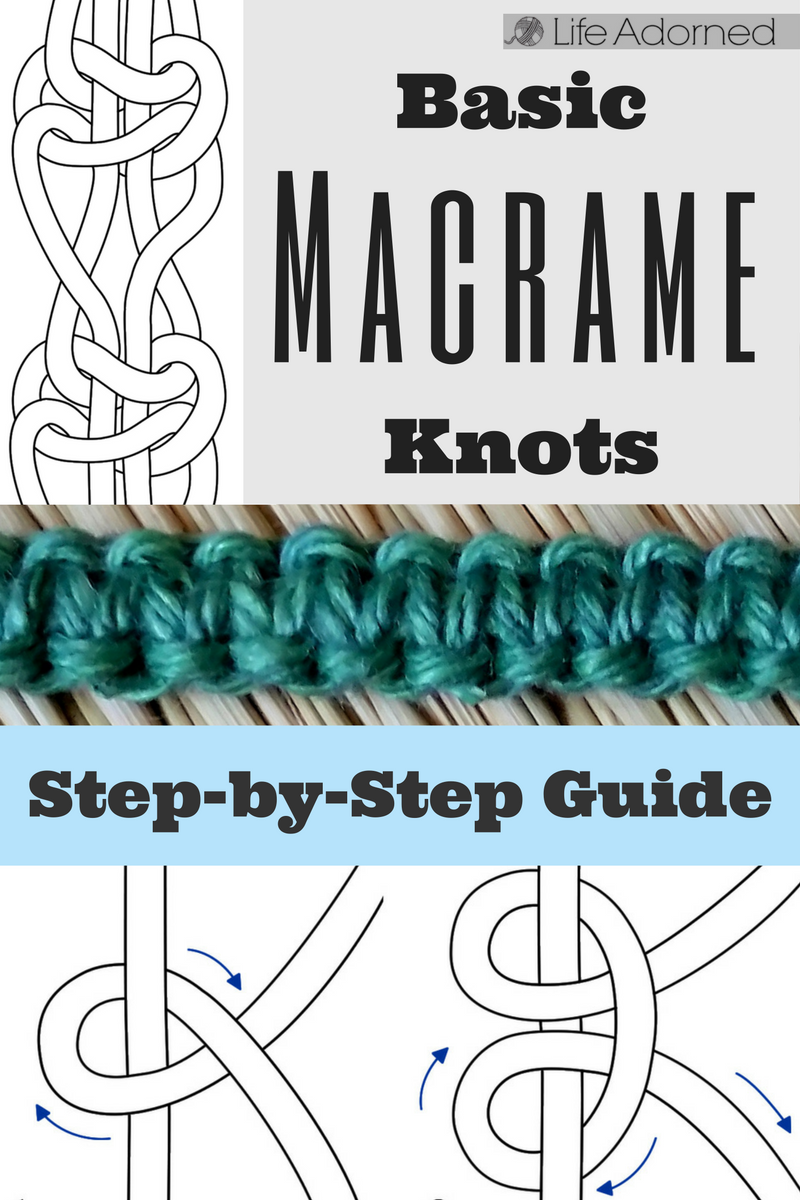 Basic Macrame Knots Step By Step Guide Macrame Loops Knots