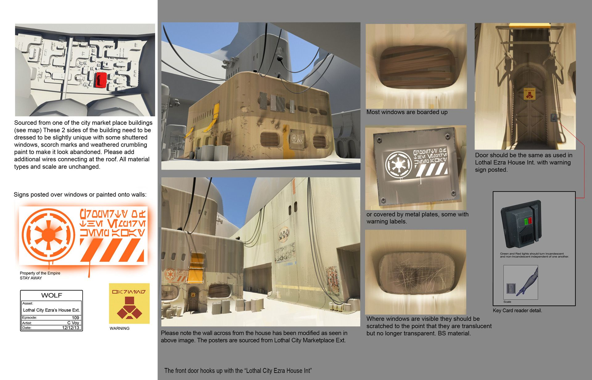 Empire day concept art gallery starwars building references