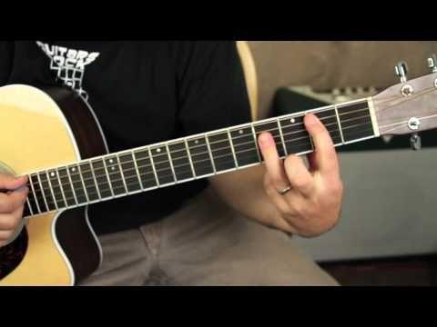 Nirvana - Where Did You Sleep Last Night - guitar lesson tutorial ...