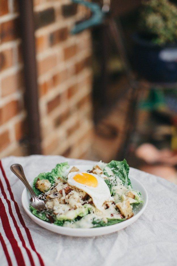 Caesar Salad for Single Ladies | erin made this-4