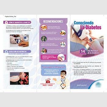 tarjeta de información para pacientes con diabetes