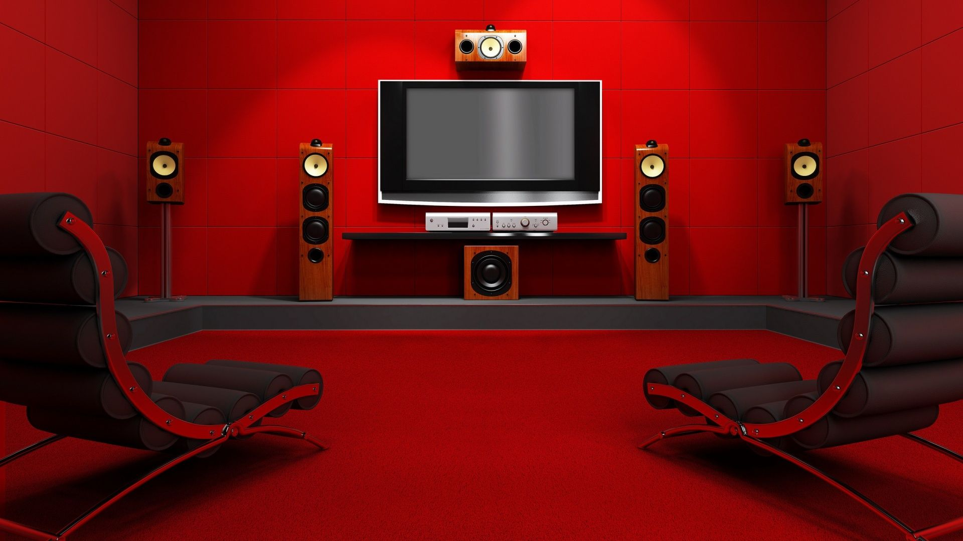 Room Red image for simple movie room ideas wallpaper free desktop | things