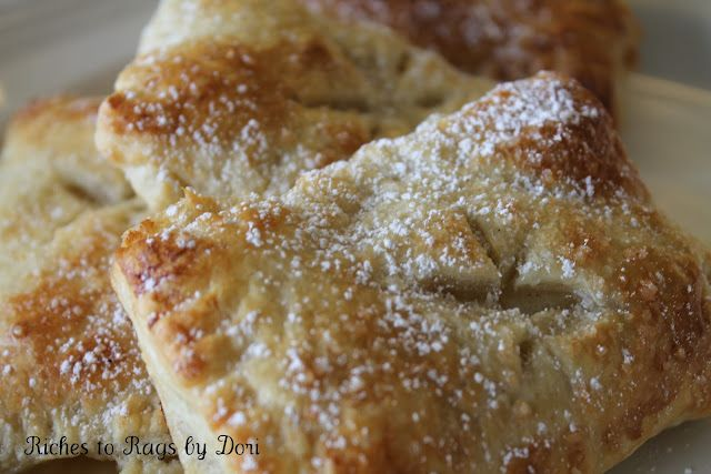 Apple Pastry Turnovers - so easy