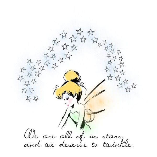 Stars tinkerbell star and peter pans we are all of us stars and we deserve to twinkle voltagebd Choice Image