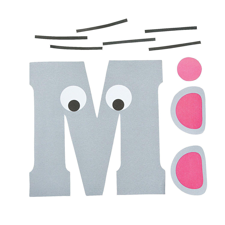 Letter M Pieces
