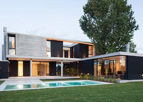 Amado cattaneo arquitectos casa nicolai en 2019 - Arquitectos casas modernas ...