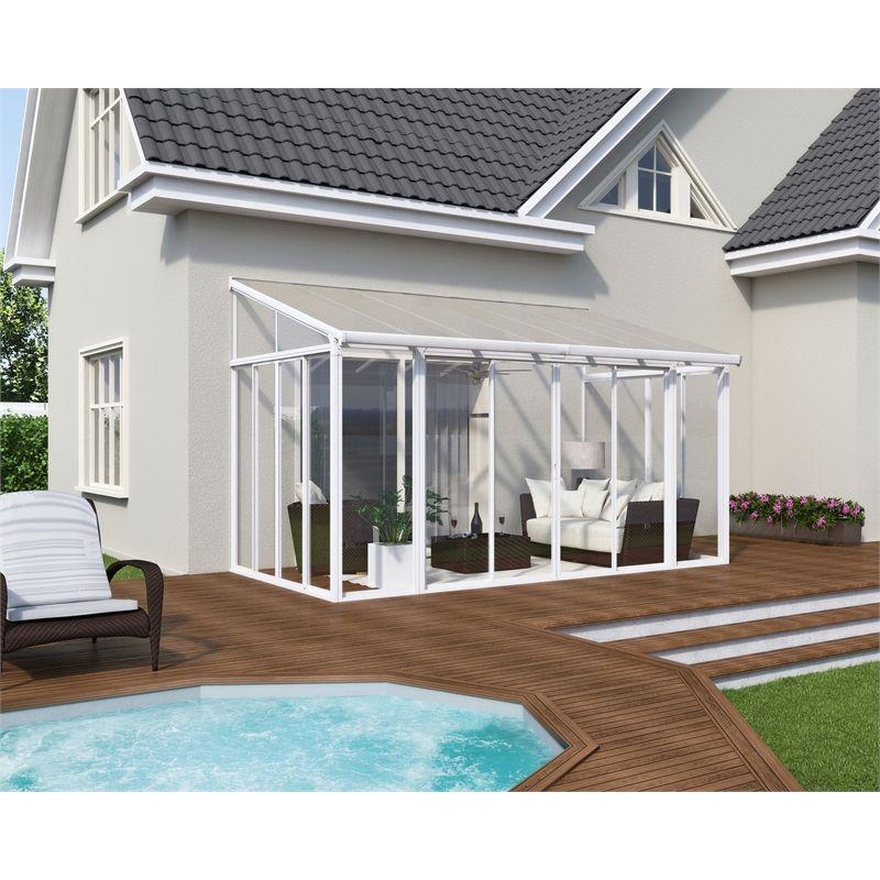 Palram 3000 x 4250mm sanremo sunroom kit patio