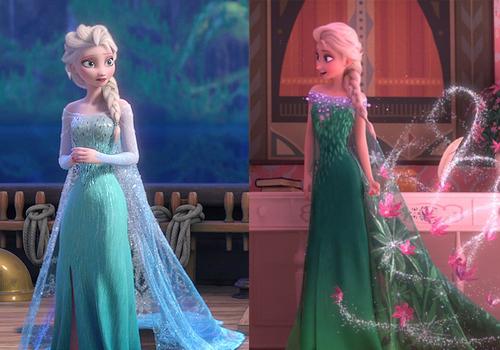 Elsa S Ice Dress Spring