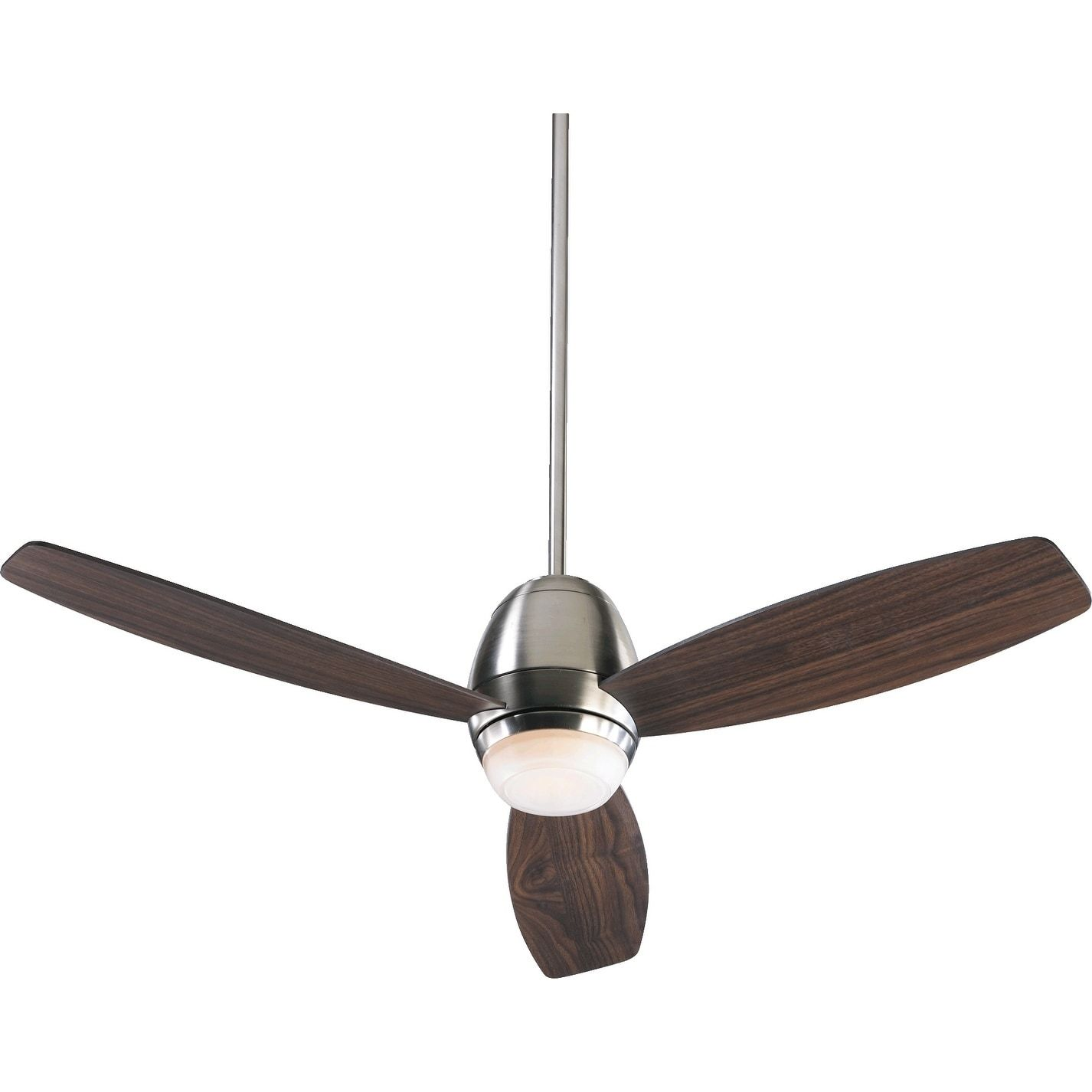 International Bronx 52 Contemporary Ceiling Fan with Integraded