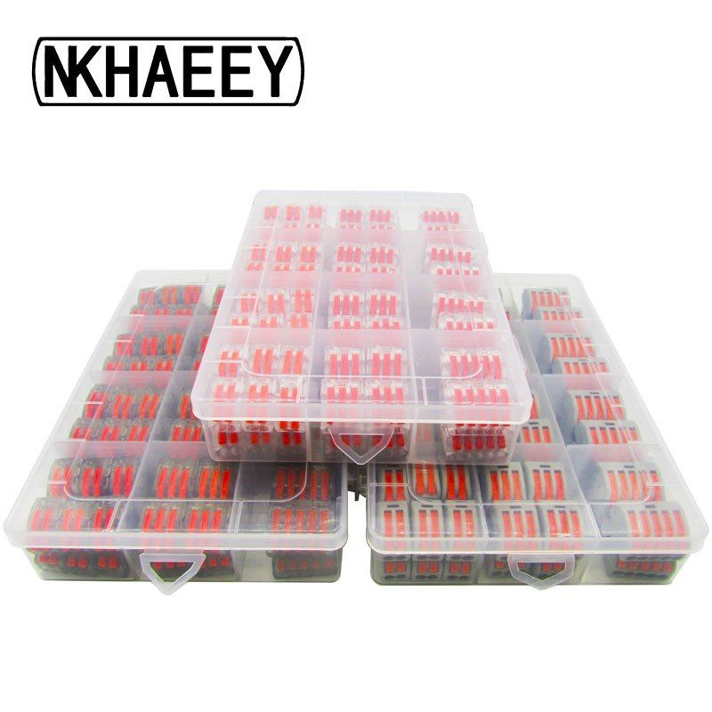 Wago Type 212-415 96PCS/BOX Electrical Wiring Terminals ... Wiring Connectors Connection on